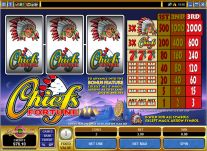 Roxy Palace Casino: Chiefs Fortune