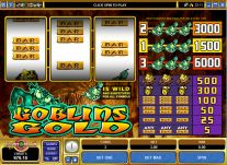 Roxy Palace Casino: Goblins Gold